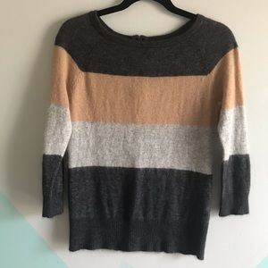 Fenn Wright Manson angora sweater color block